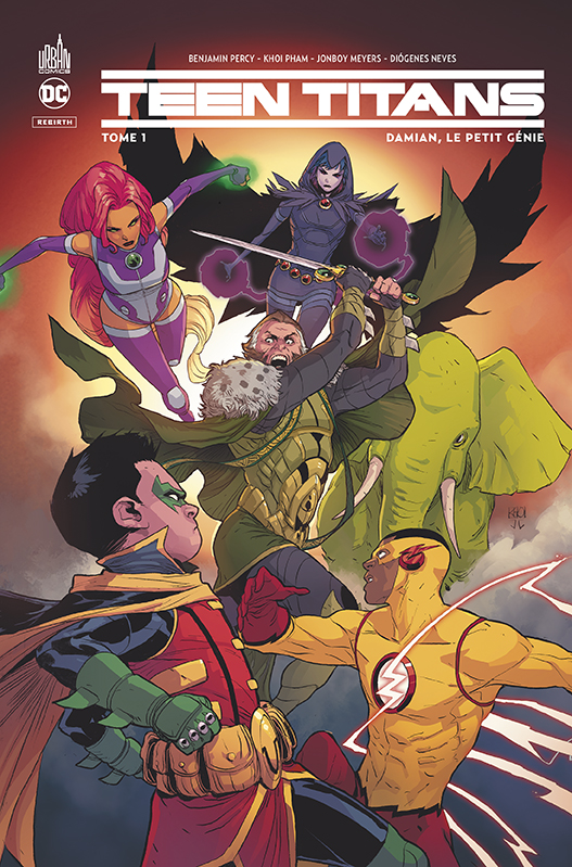 Teen Titans - Rebirth 1