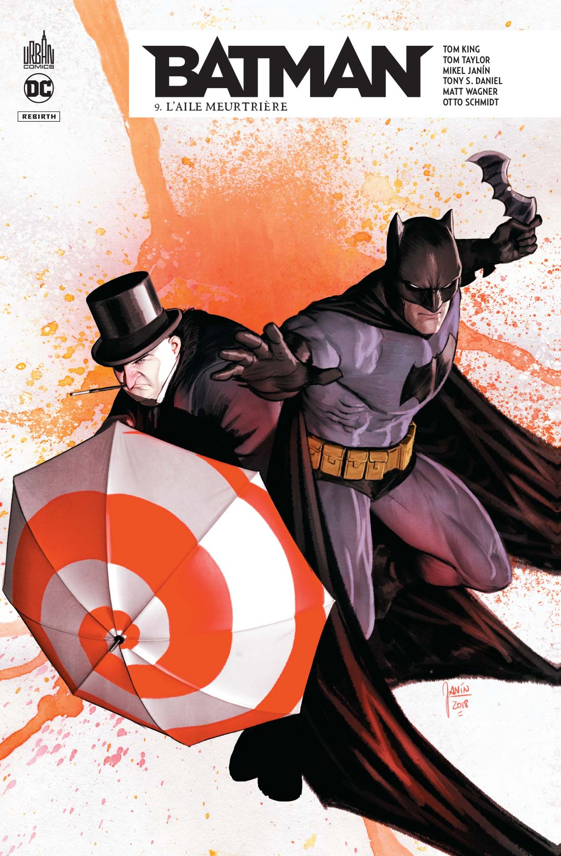 Batman Rebirth 9 - Batman rebirth tome 9