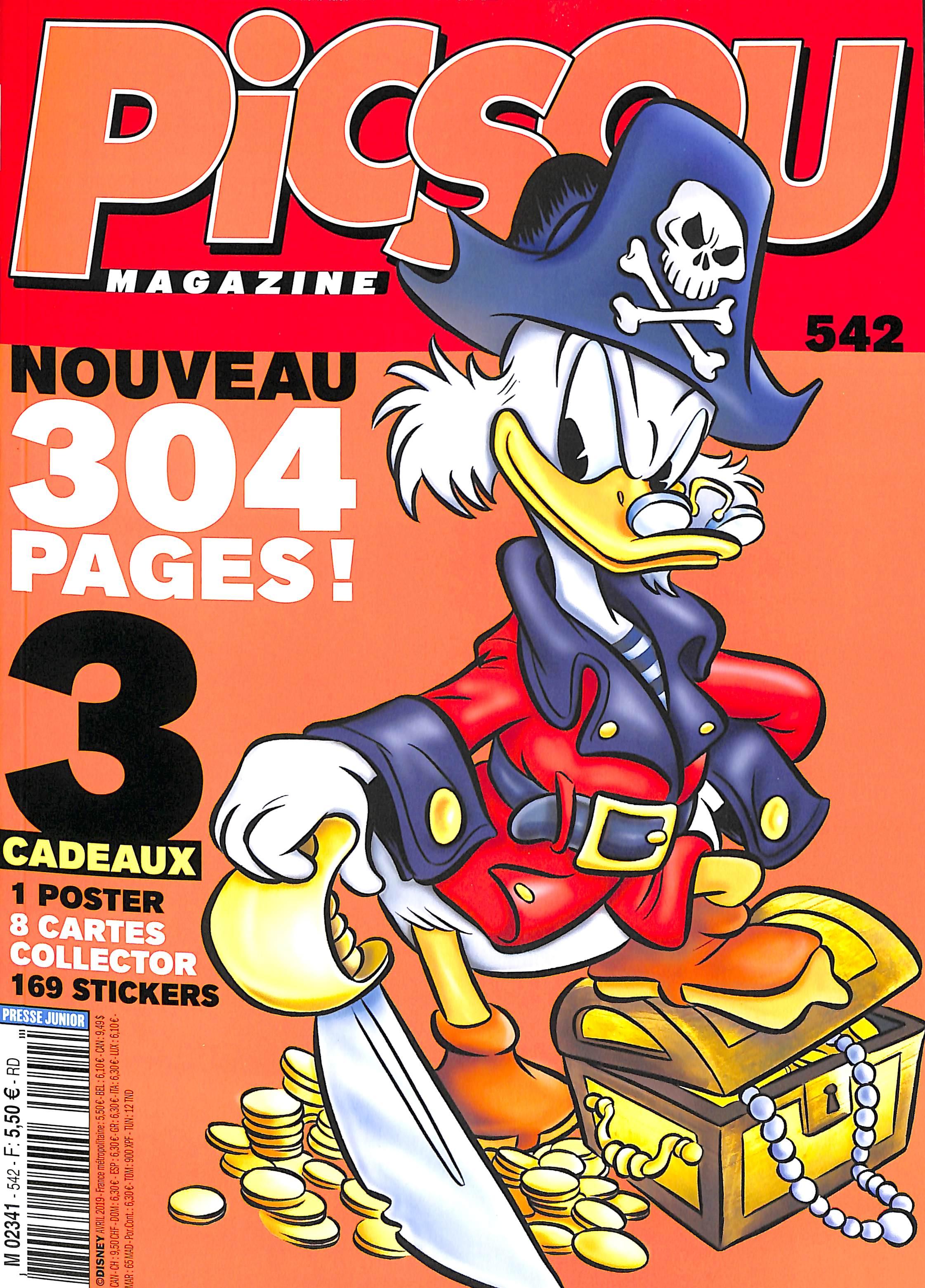 Picsou Magazine 542