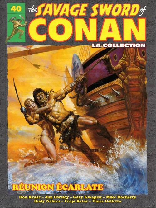 The Savage Sword of Conan 40 - Réunion écarlate