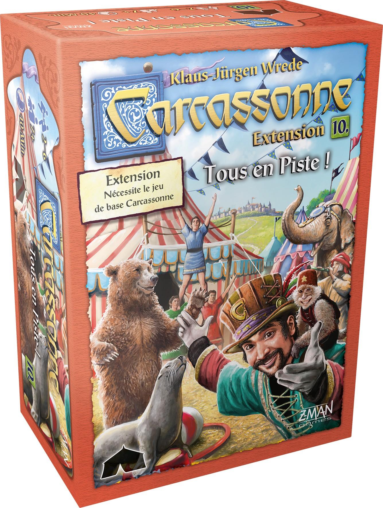 Carcassonne : Tous en Piste ! 1