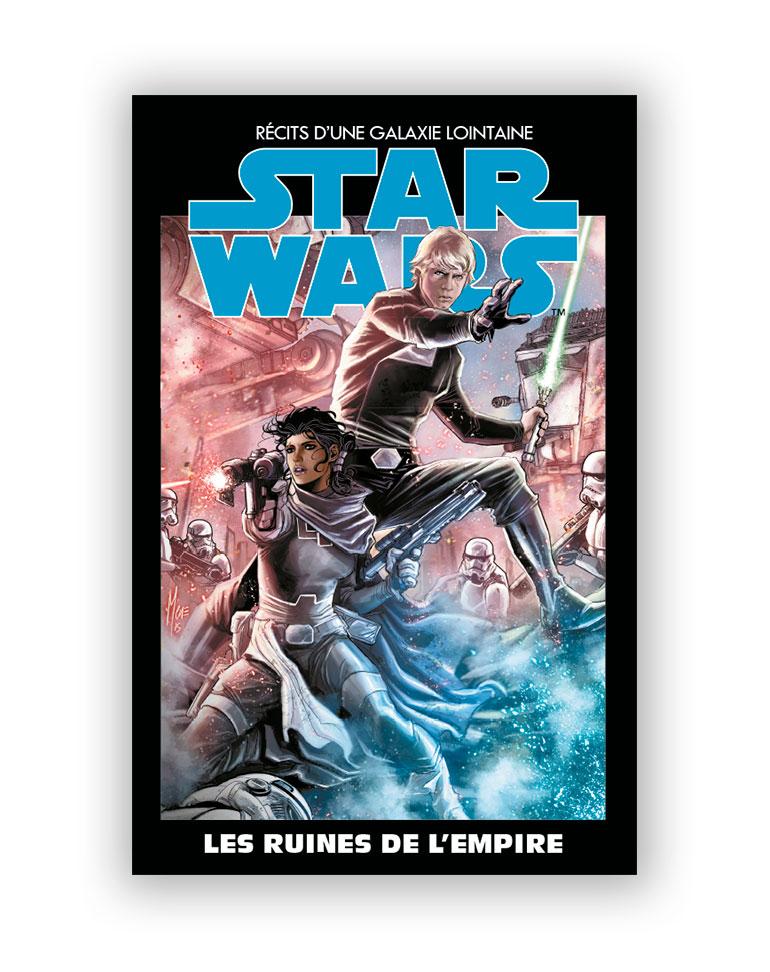 STAR WARS - L'ÉDITION SPÉCIALE : RÉCITS D'UNE GALAXIE LOINTAINE (Altaya) 8 - LES RUINES DE L'EMPIRE