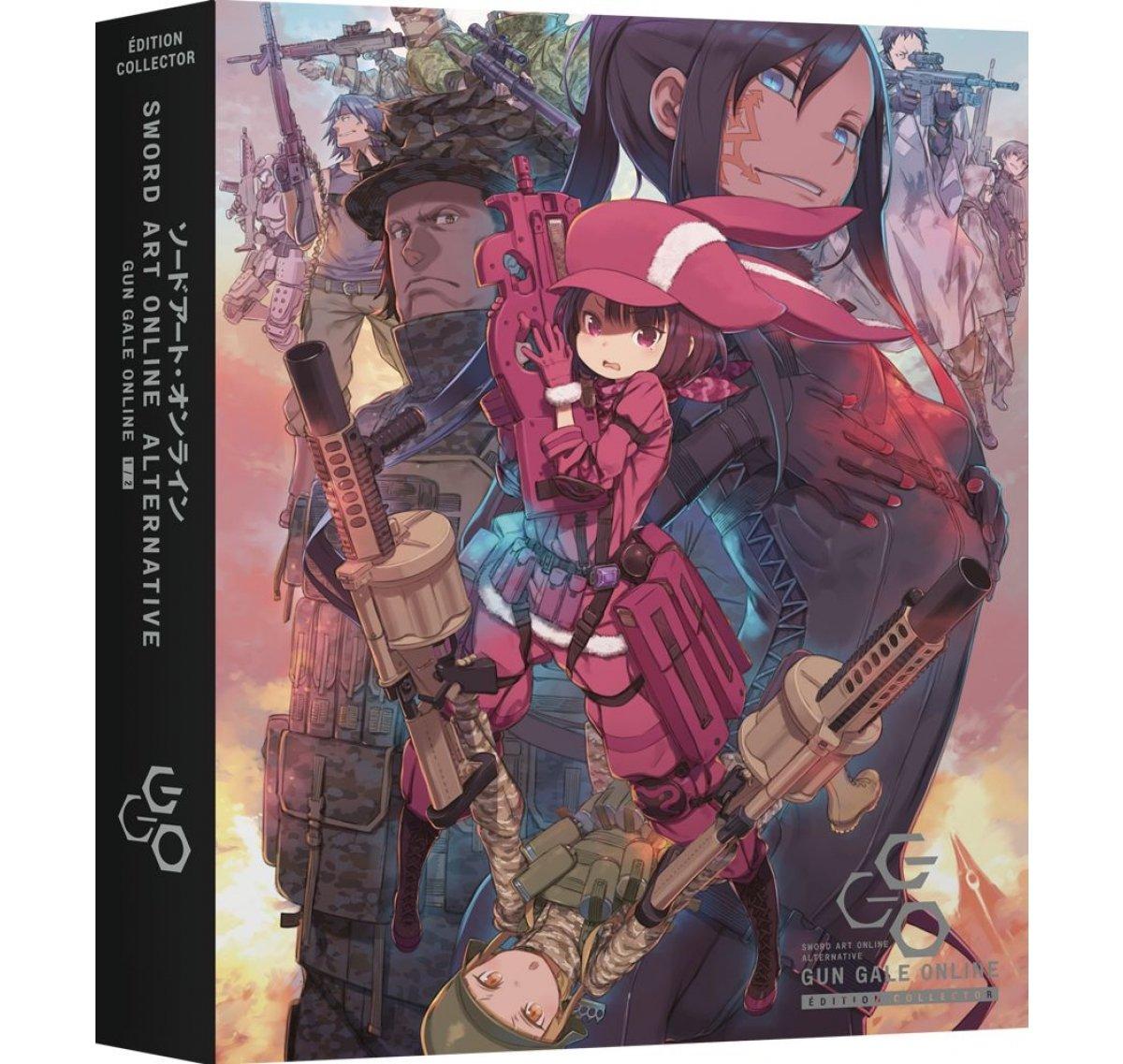 Sword Art Online: Alternative Gun Gale Online 1 - Partie 1 - Edition Collector - Coffret Blu-ray