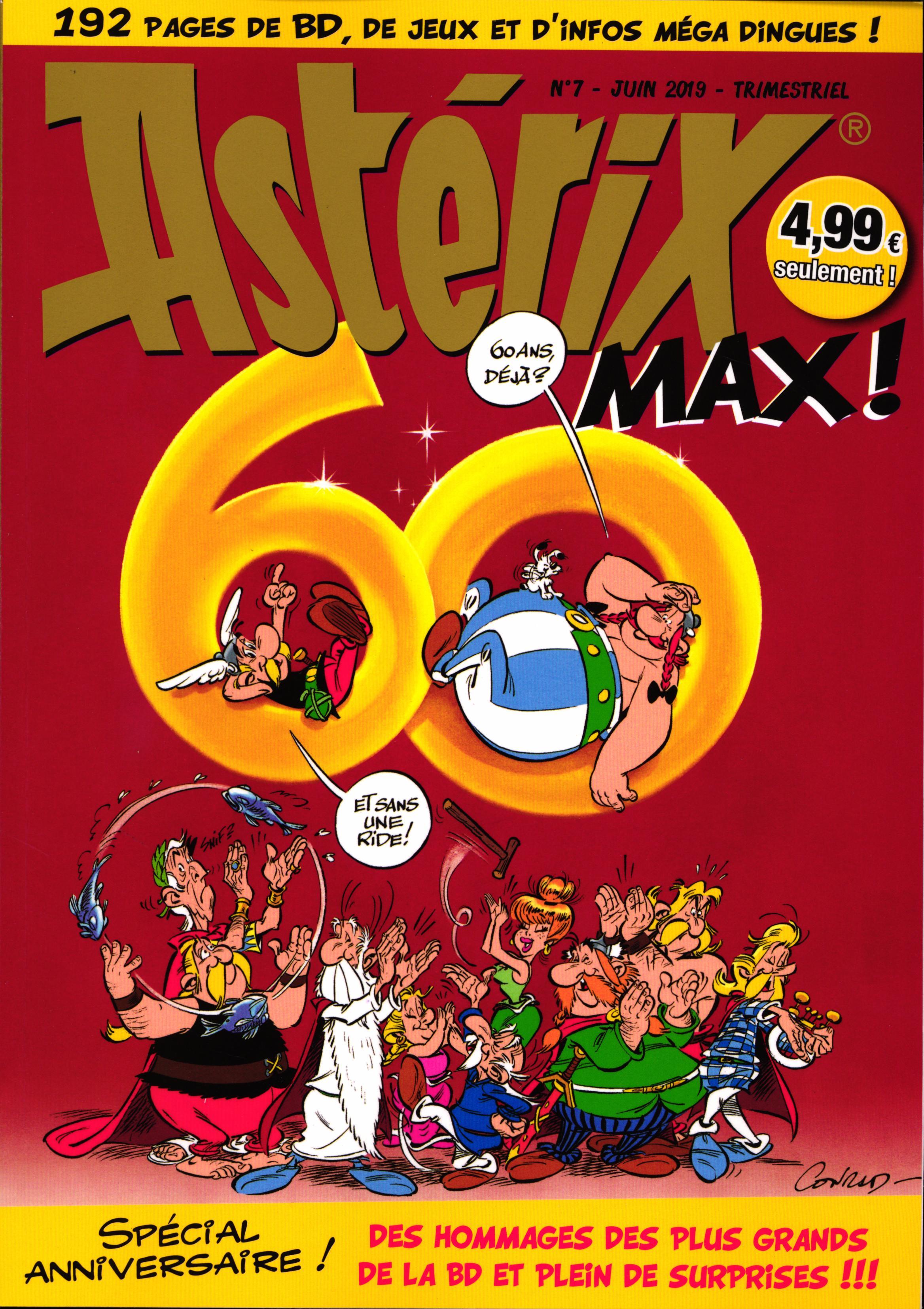 Astérix Max 7 - Spécial anniversaire