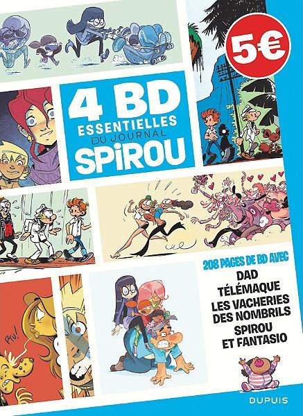 4 BD essentielles du Journal SPIROU 1 - 4 BD Essentielles du journal de Spirou