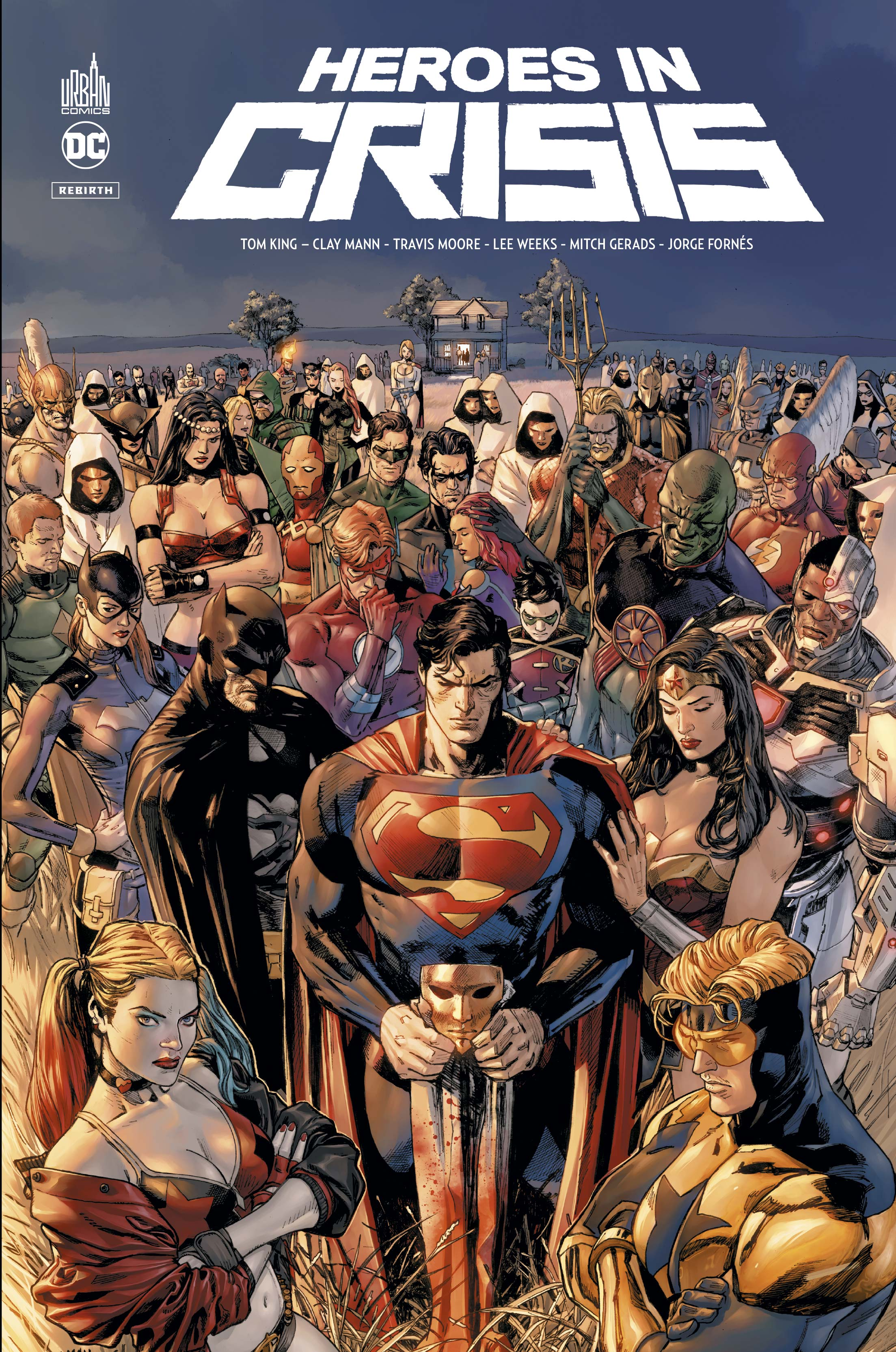 Heroes in Crisis 1 - Heroes in crisis
