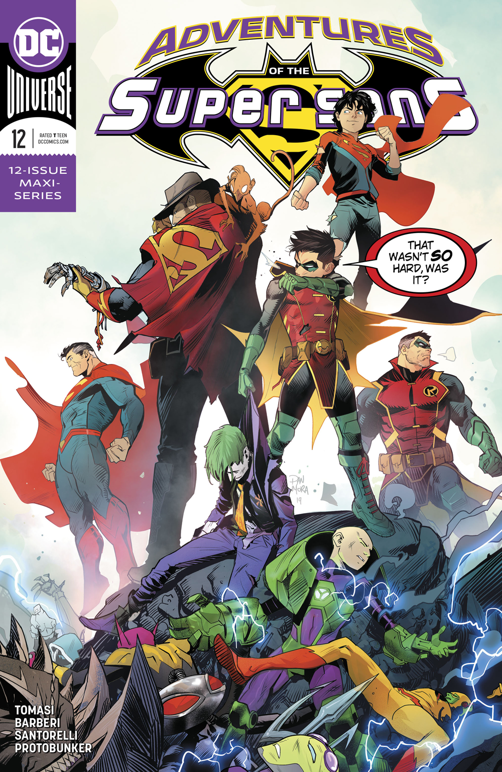 Adventures of The Super Sons 12 - Adventures of the Super sons 12