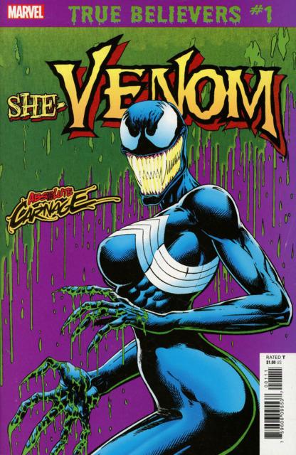 True believers - Absolute Carnage - She-Venom 1 - true believers -absolute carnage - she-venom