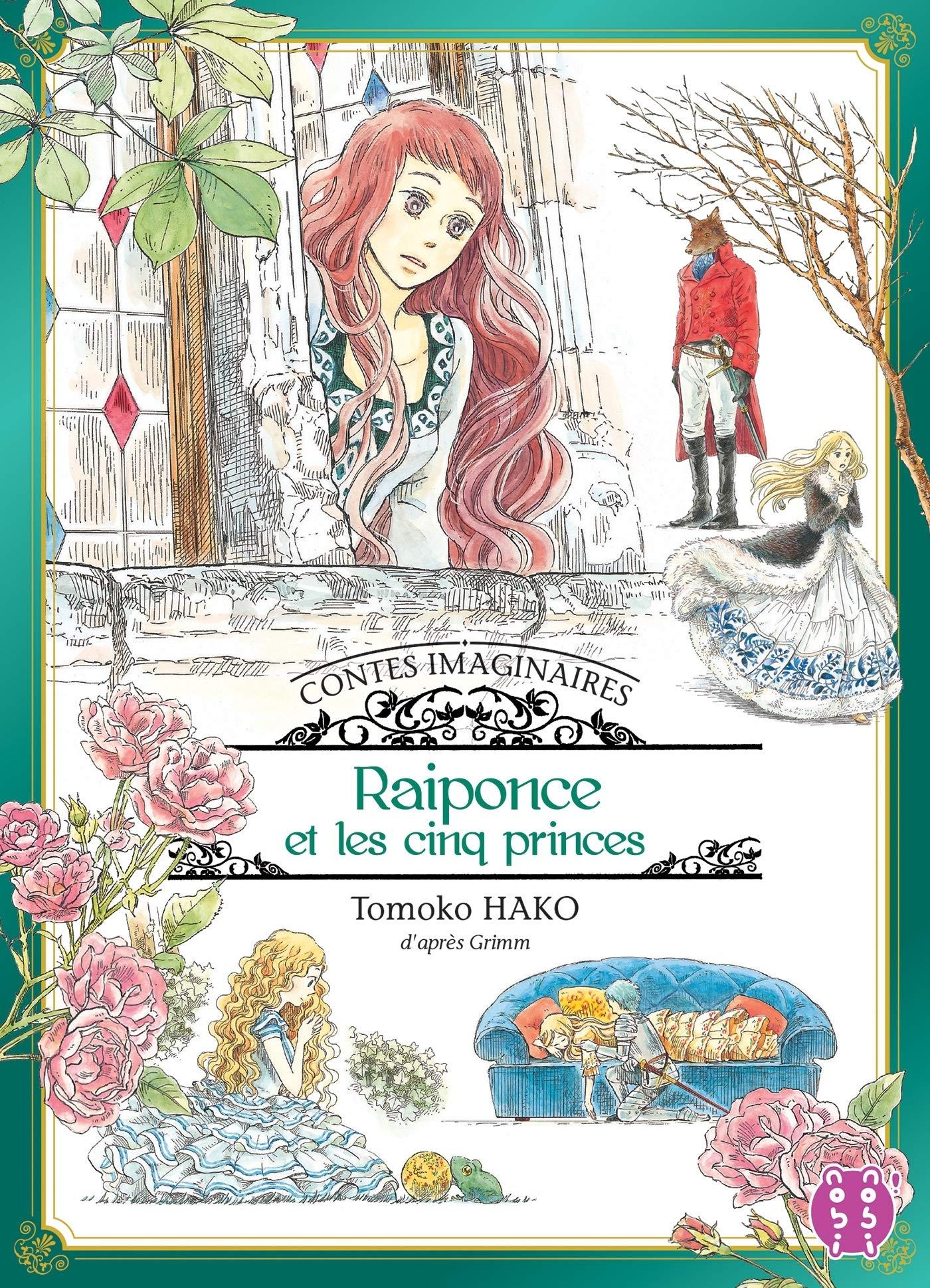 Contes Imaginaires 2 - Raiponce et les Cinq Princes