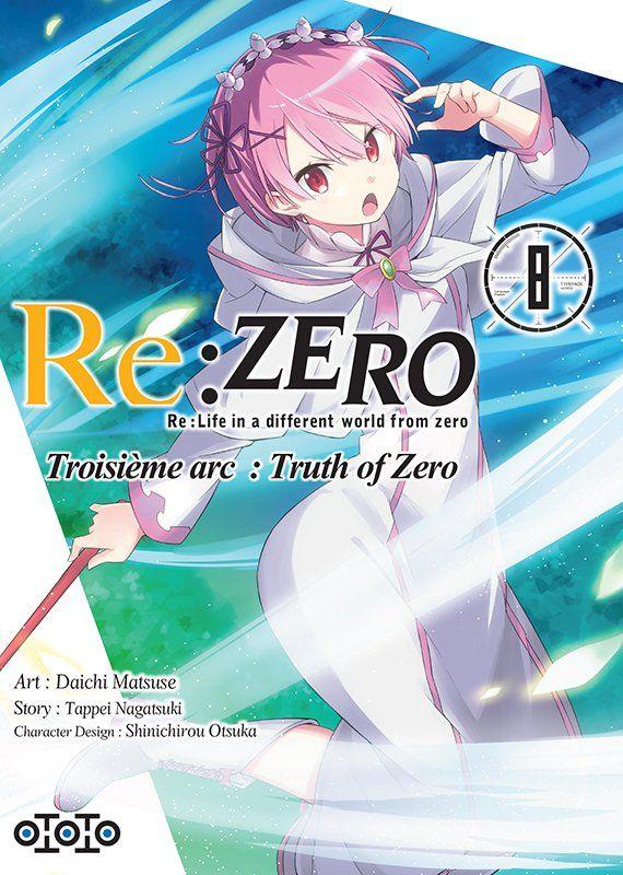 Re:Zero - Re:Life in a different world from zero - Troisième arc : Truth of Zero 8