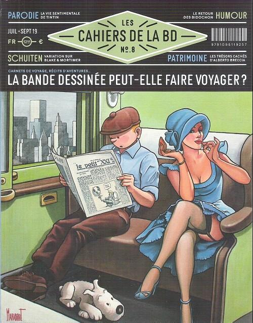 Les cahiers de la BD (Vagator) 8 - La bande dessinée peut-elle faire voyager ?
