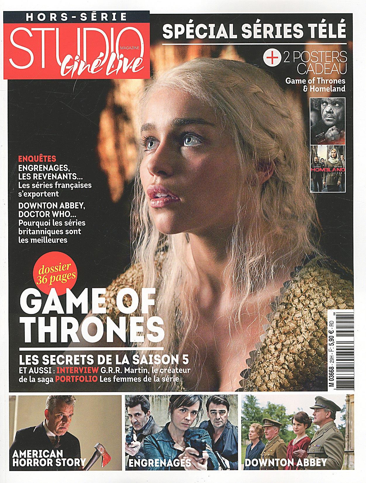 Studio Ciné Live 29 - Spécial Game of Thrones