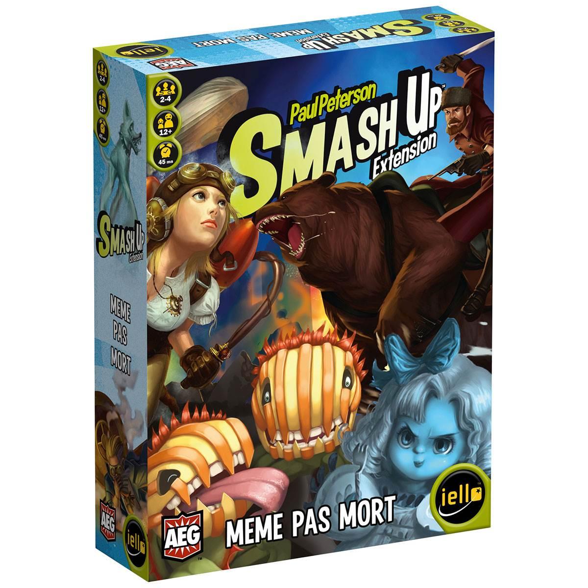 Smash Up : Même pas mort 0
