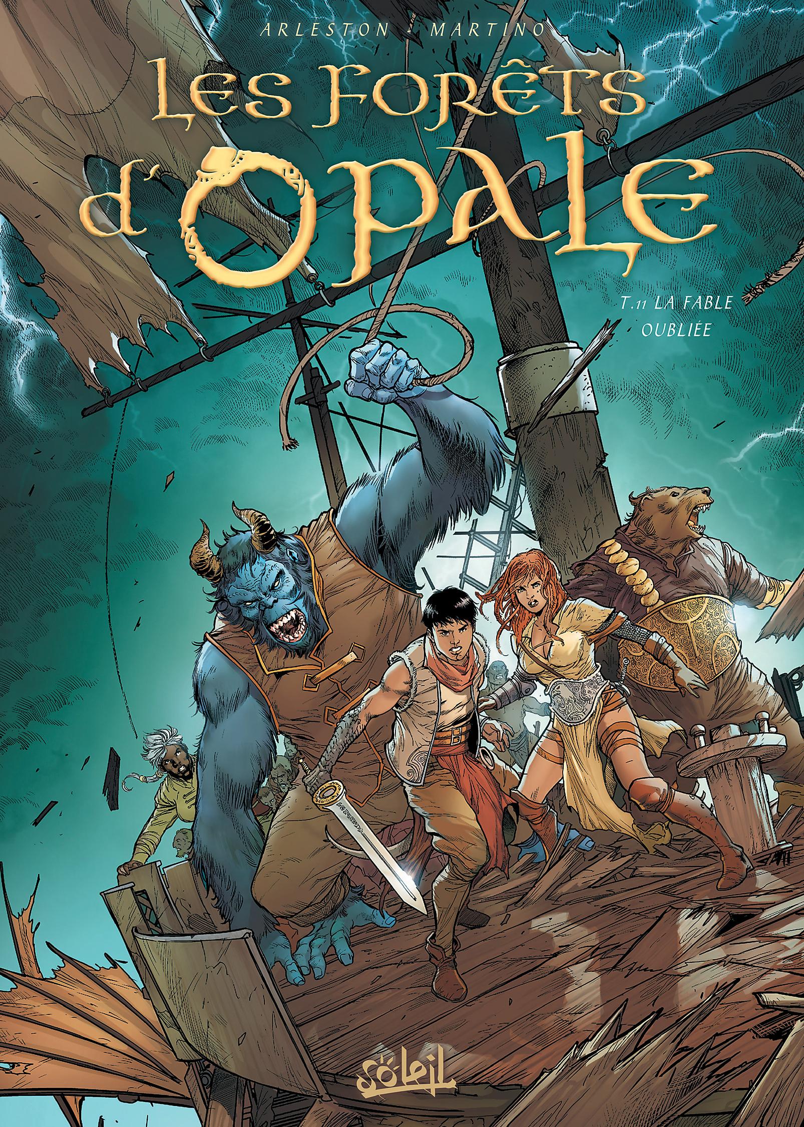 Les forêts d'Opale 11 - La Fable oubliée
