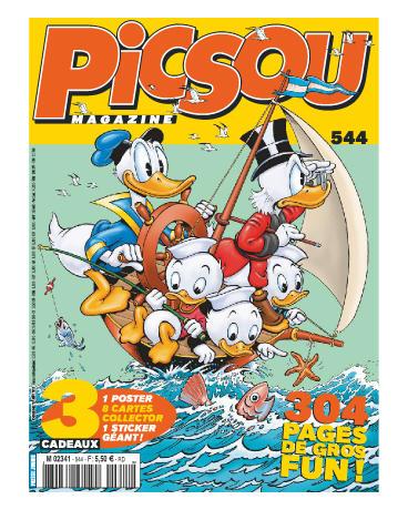 Picsou Magazine 544 - picsou magazine