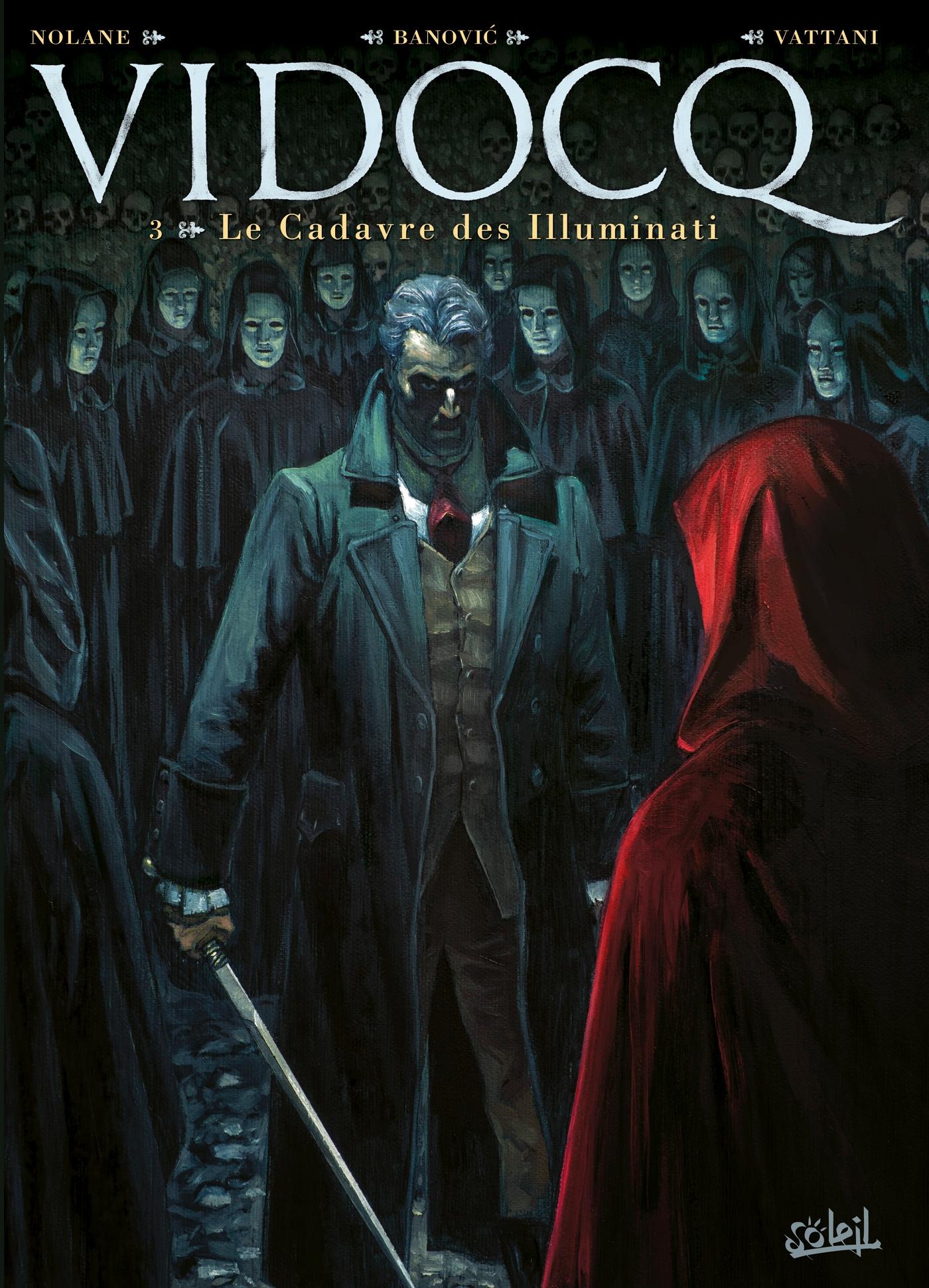 Vidocq 3 - Le cadavre des Illuminati