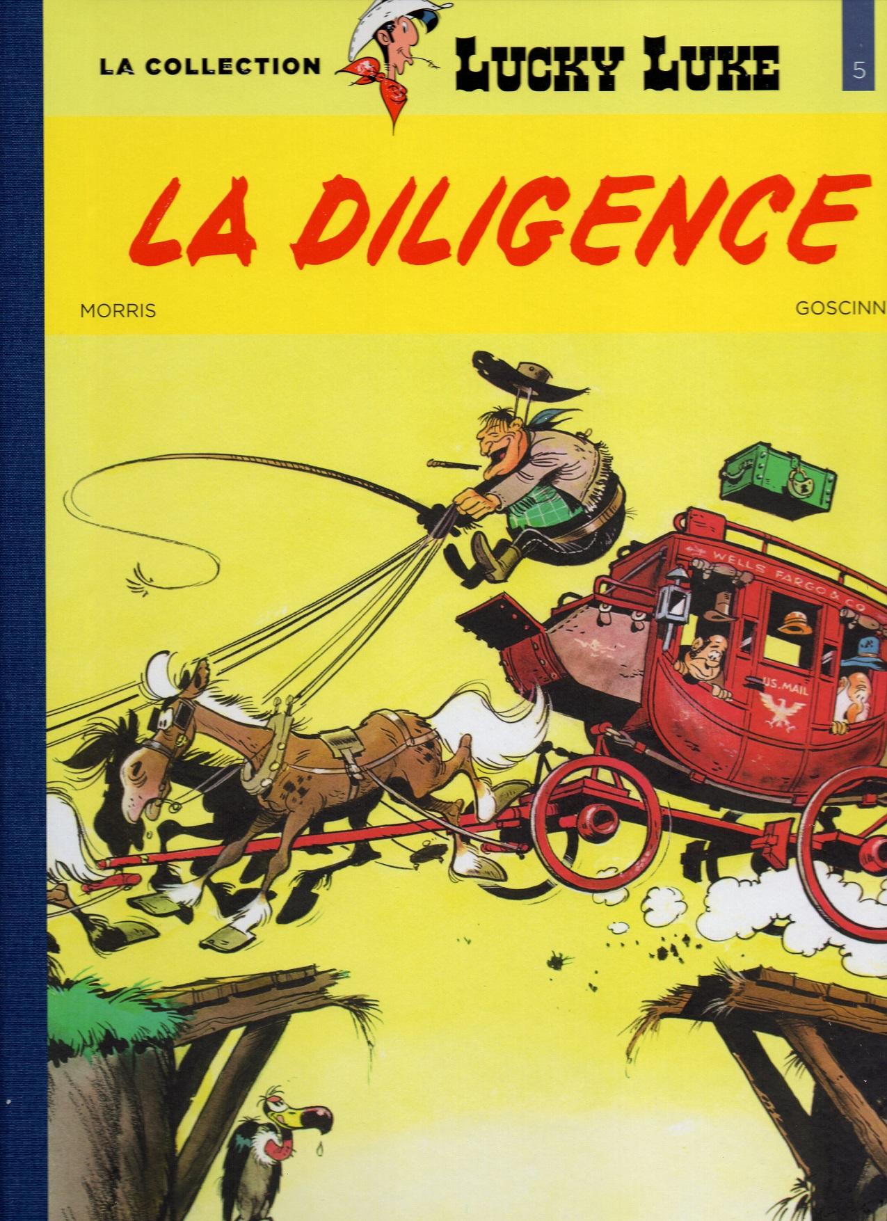 Lucky Luke 31 - La diligence