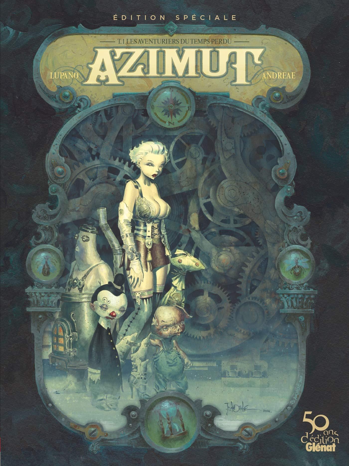 Azimut 1 - Les aventuriers du temps perdu