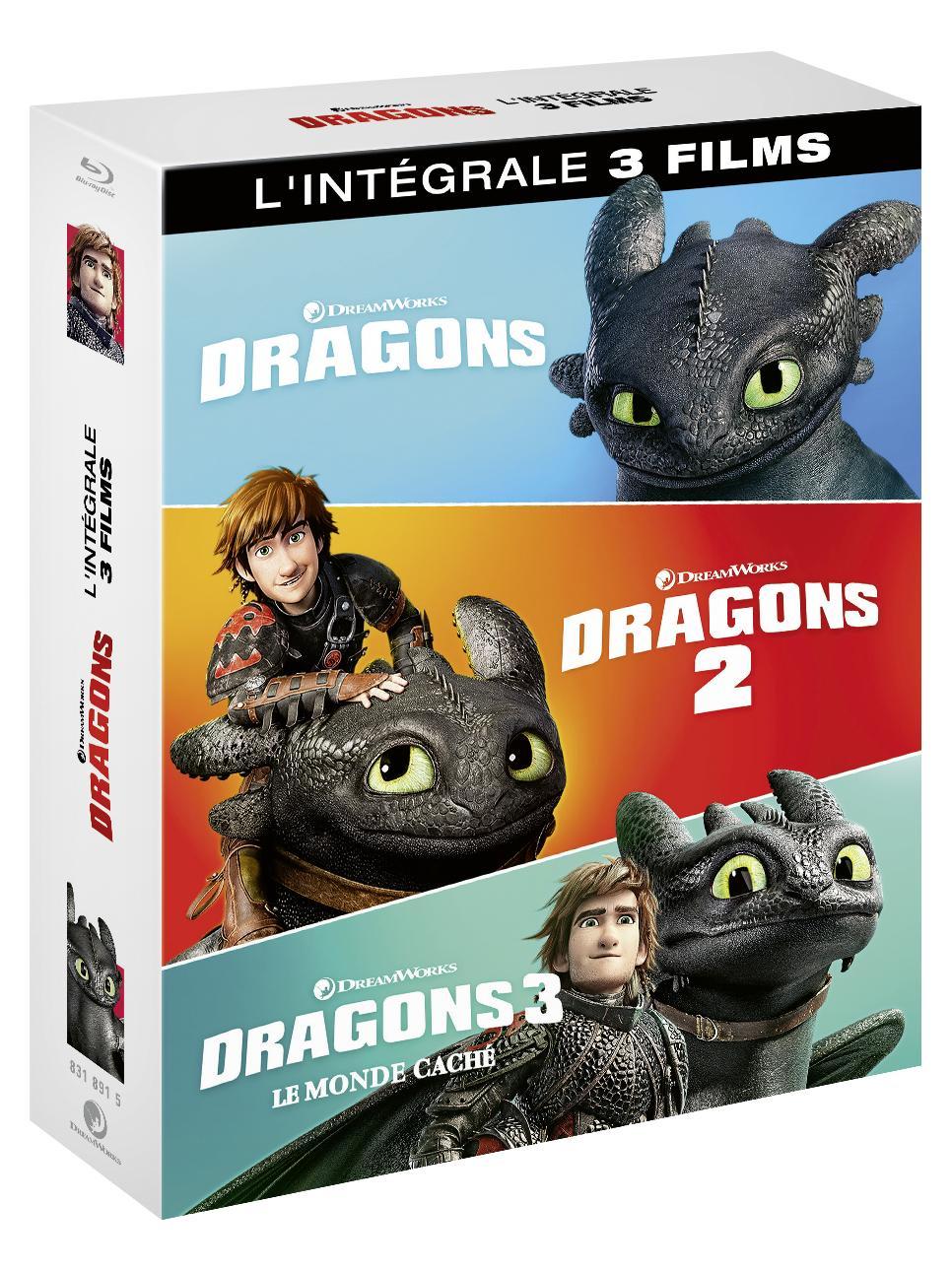 Dragons - L'intégrale des 3 films 0