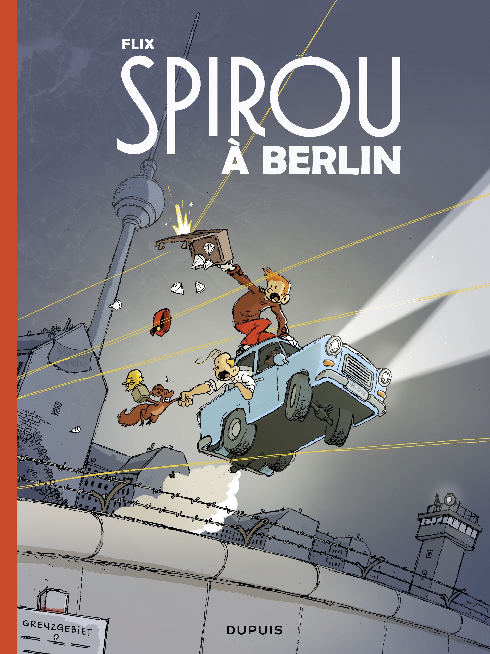 Le Spirou de... 16 - Spirou à Berlin