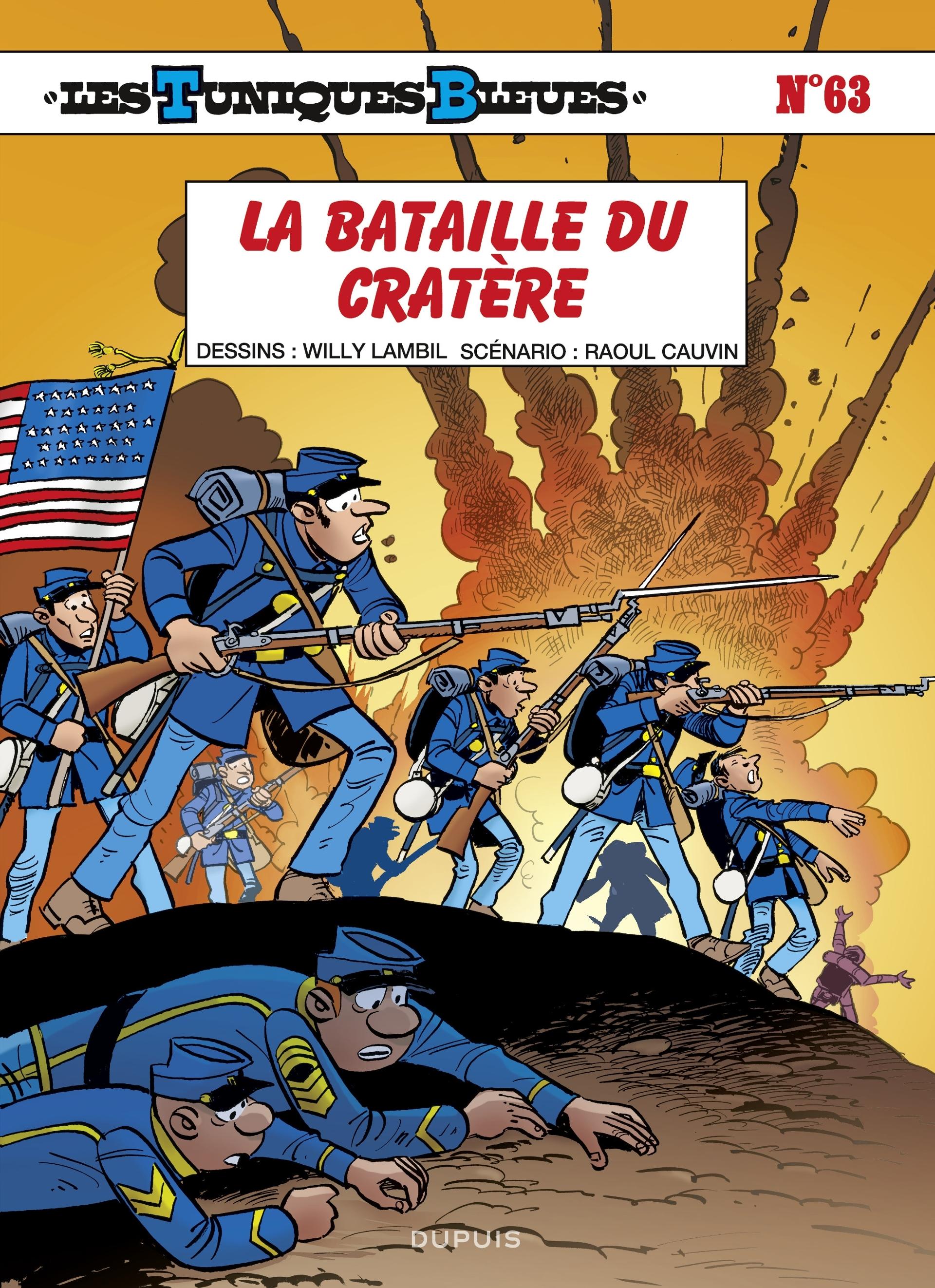 Les tuniques bleues 63 - La bataille du cratère