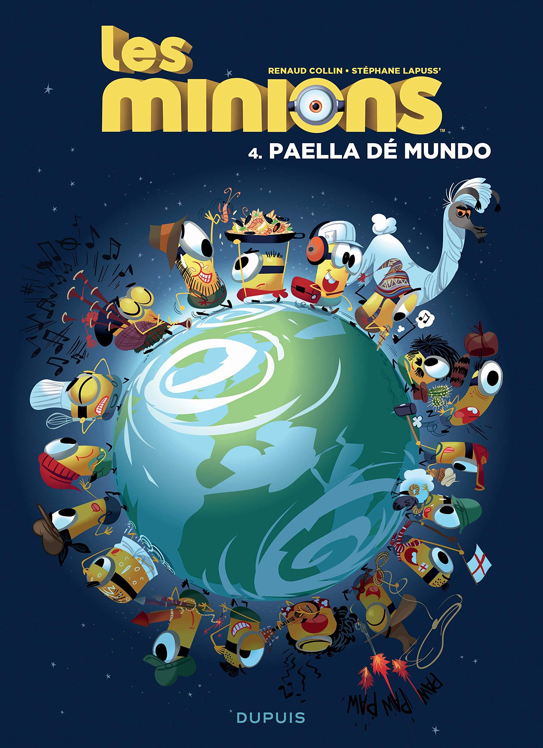 Les Minions 4 - Paella dé mundo