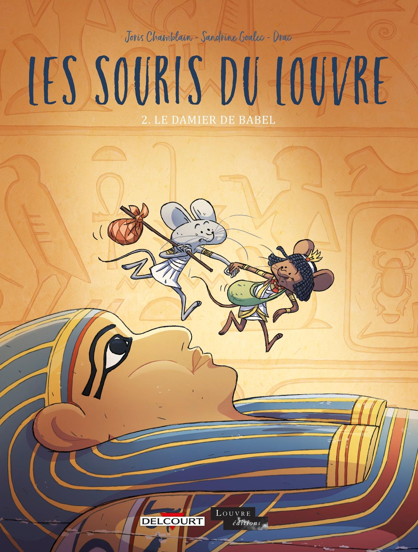 Les souris du Louvre 2 - Le damier de Babel