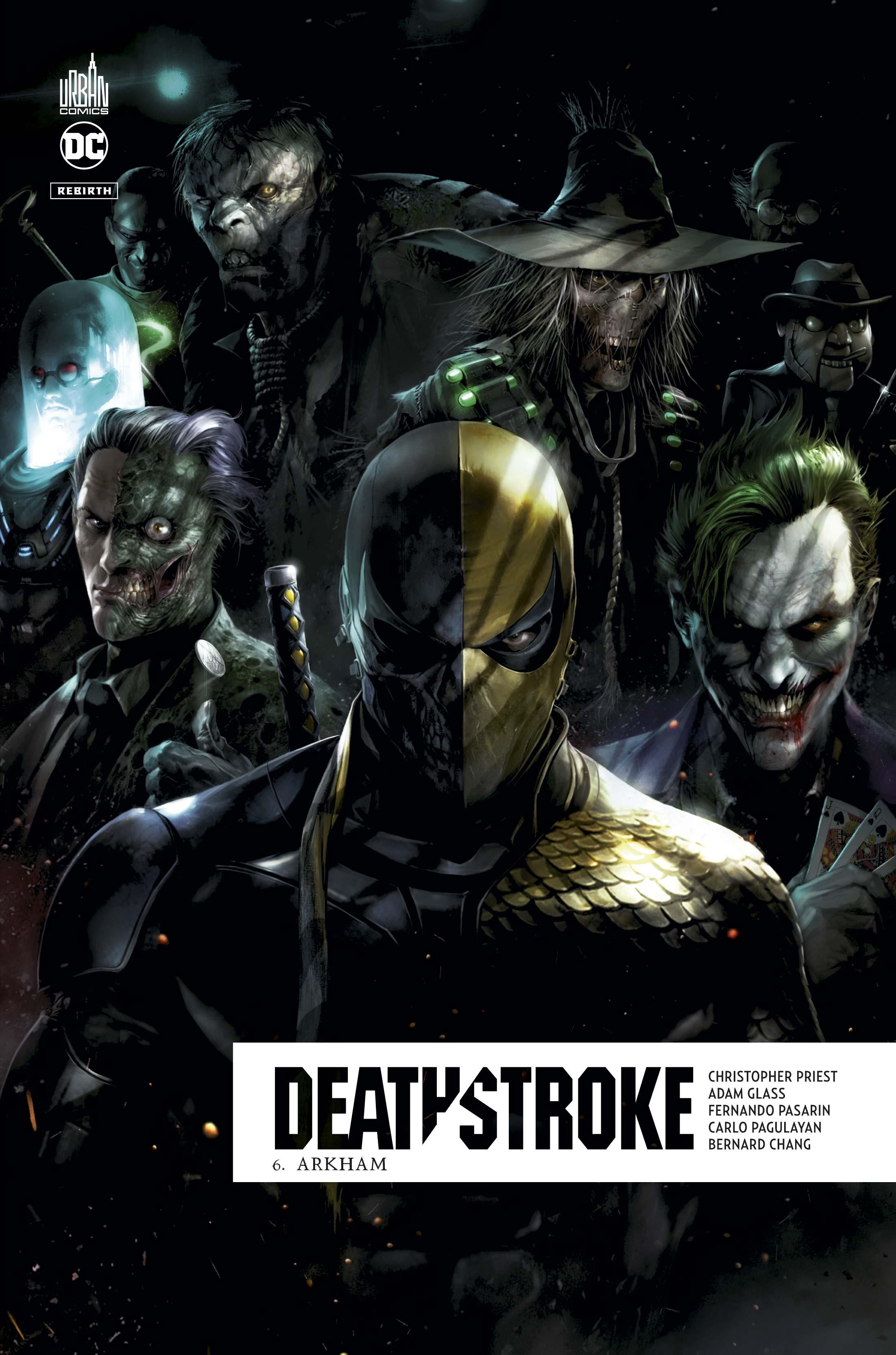 Deathstroke Rebirth 6 - Arkham