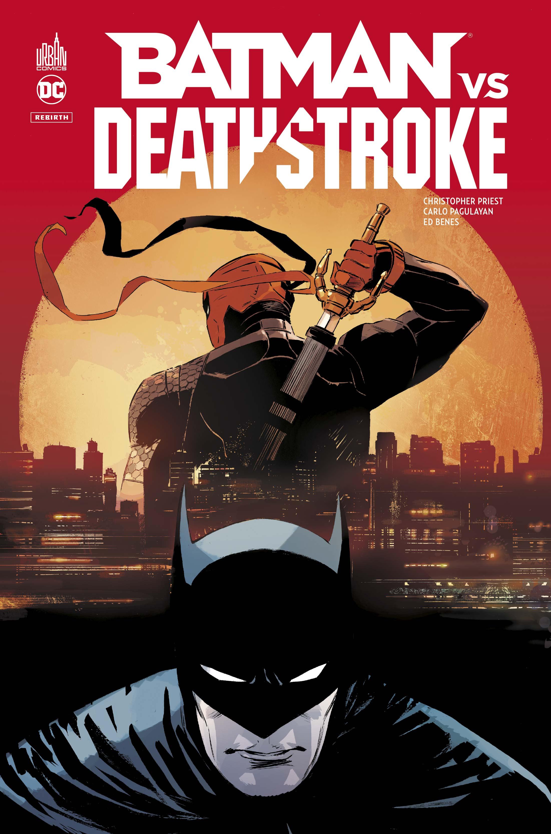 Batman vs Deathstroke 1 - Batman vs deathstroke