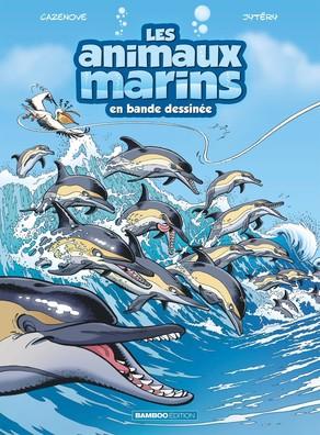 Les animaux marins en bande dessinée 5 - Tome 5