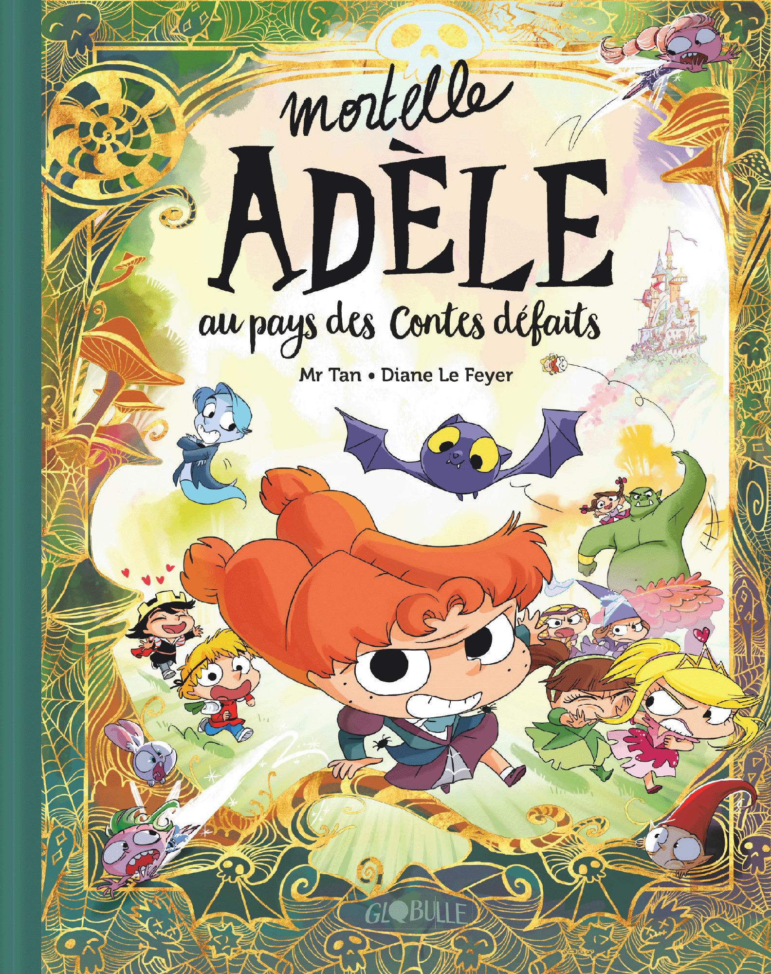Mortelle Adèle 0 - Mortelle Adèle au pays des contes défaits