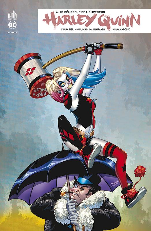 Harley Quinn Rebirth 6 - La démarche de l'empereur