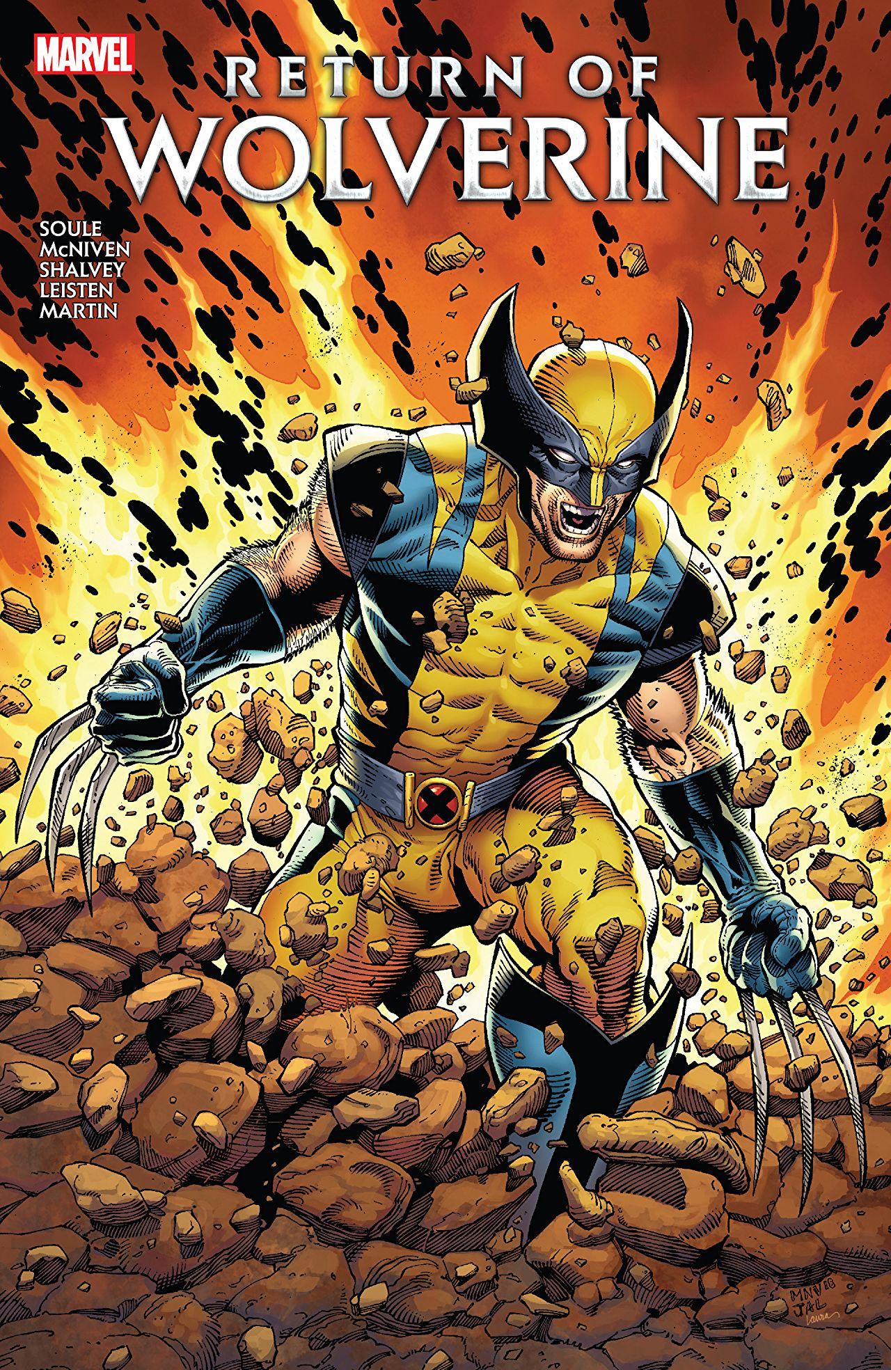 Wolverine - Le retour de Wolverine 1 - Intégral