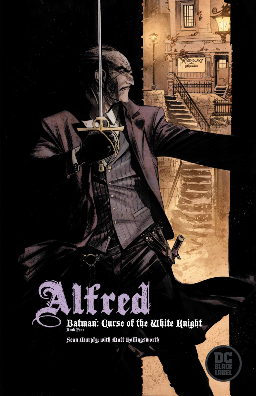 Batman - Curse of the White Knight 4 - Book Four - Alfred variant