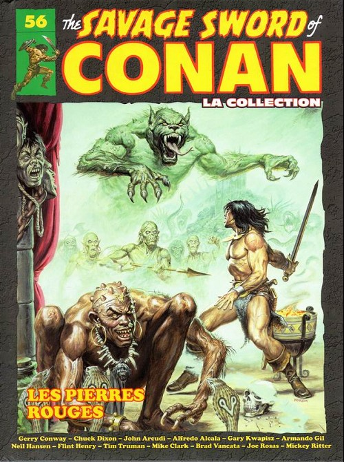 The Savage Sword of Conan 56 - Les pierres rouges