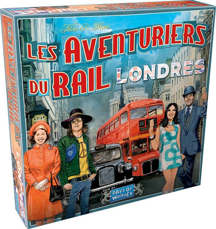 Les Aventuriers du Rail : Londres 0