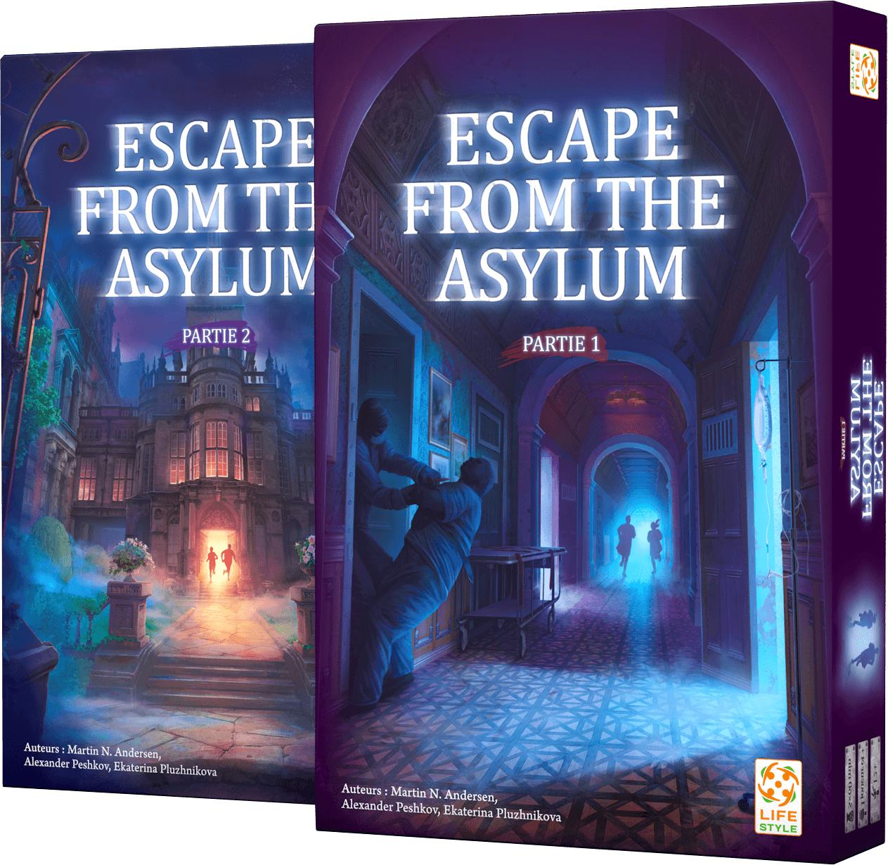 Escape From The Asylum 0