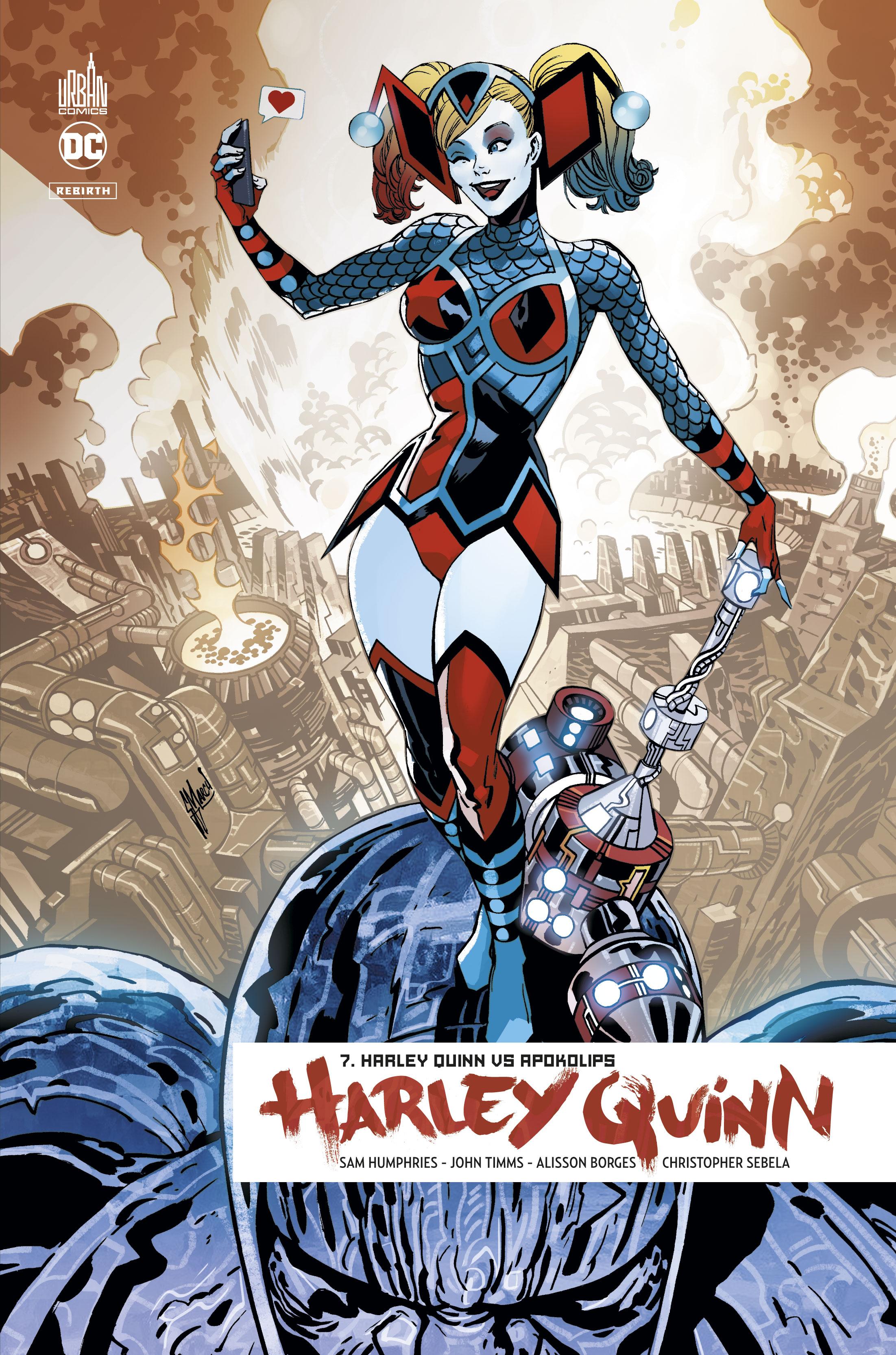 Harley Quinn Rebirth 7