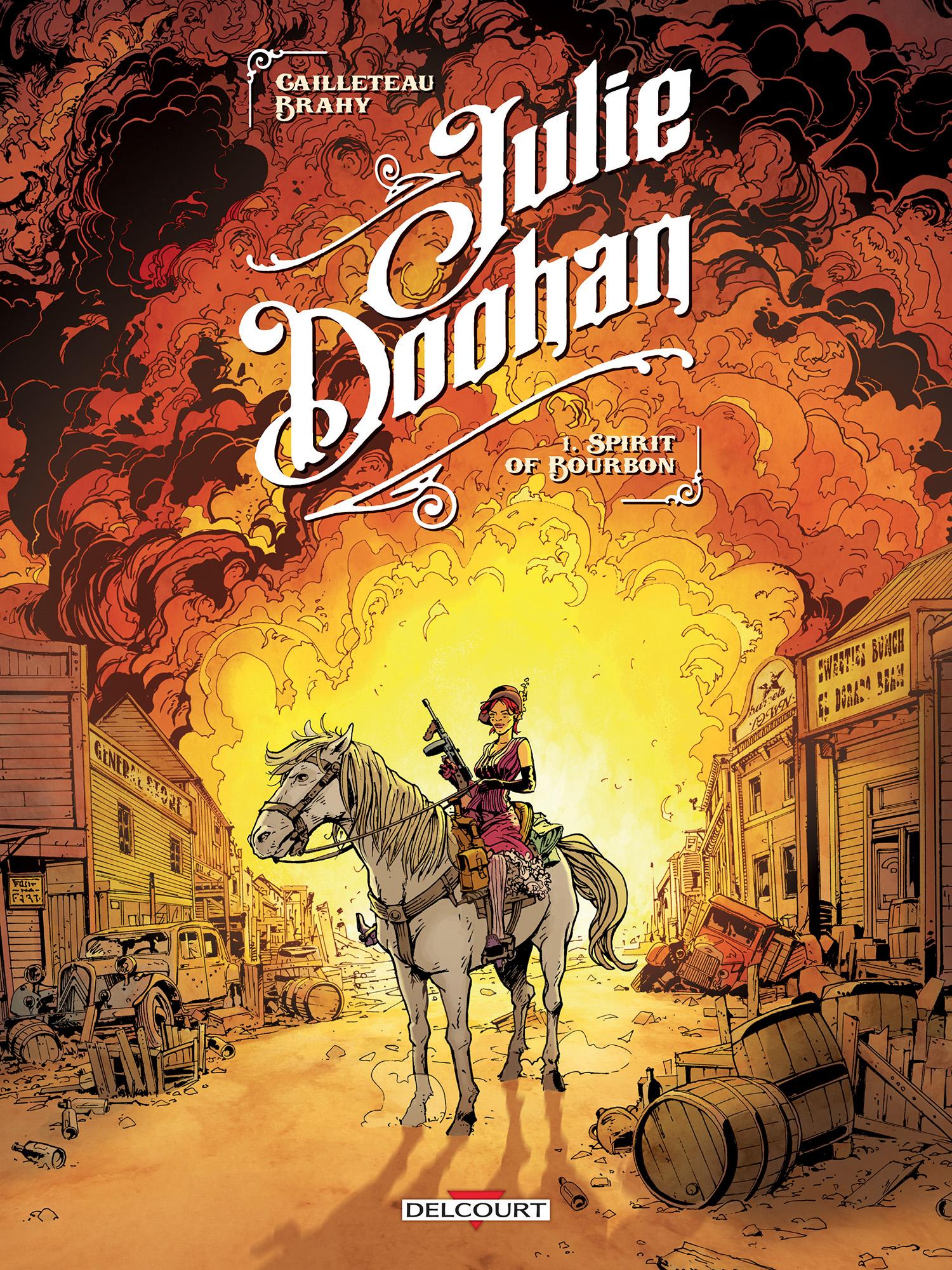 Julie Doohan 1 - Spirit of bourbon