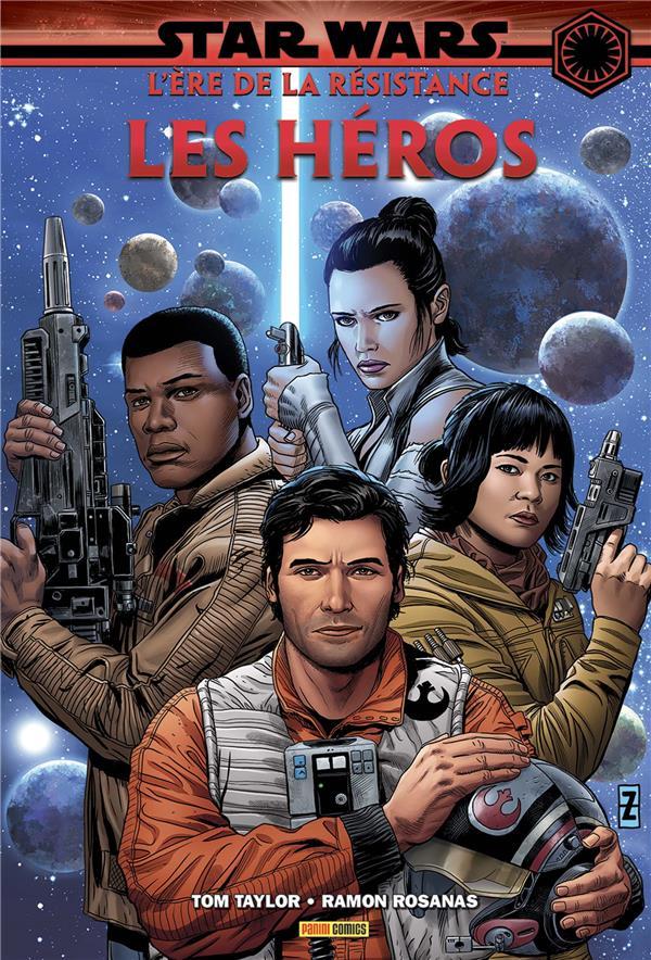 Star wars - L'ère de la résistance - les héros 1