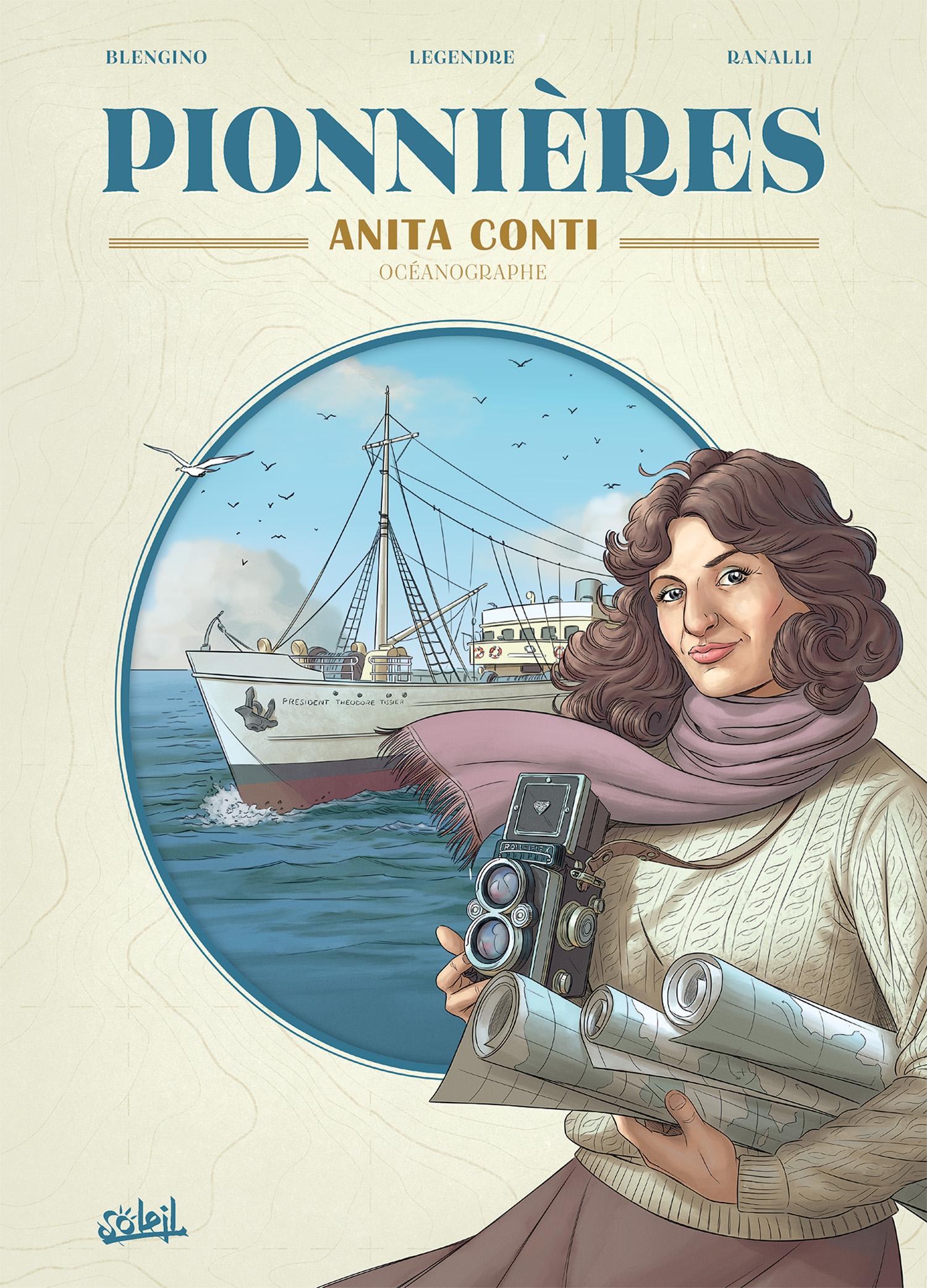 Pionnières 0 - Anita CONTI, océanographe