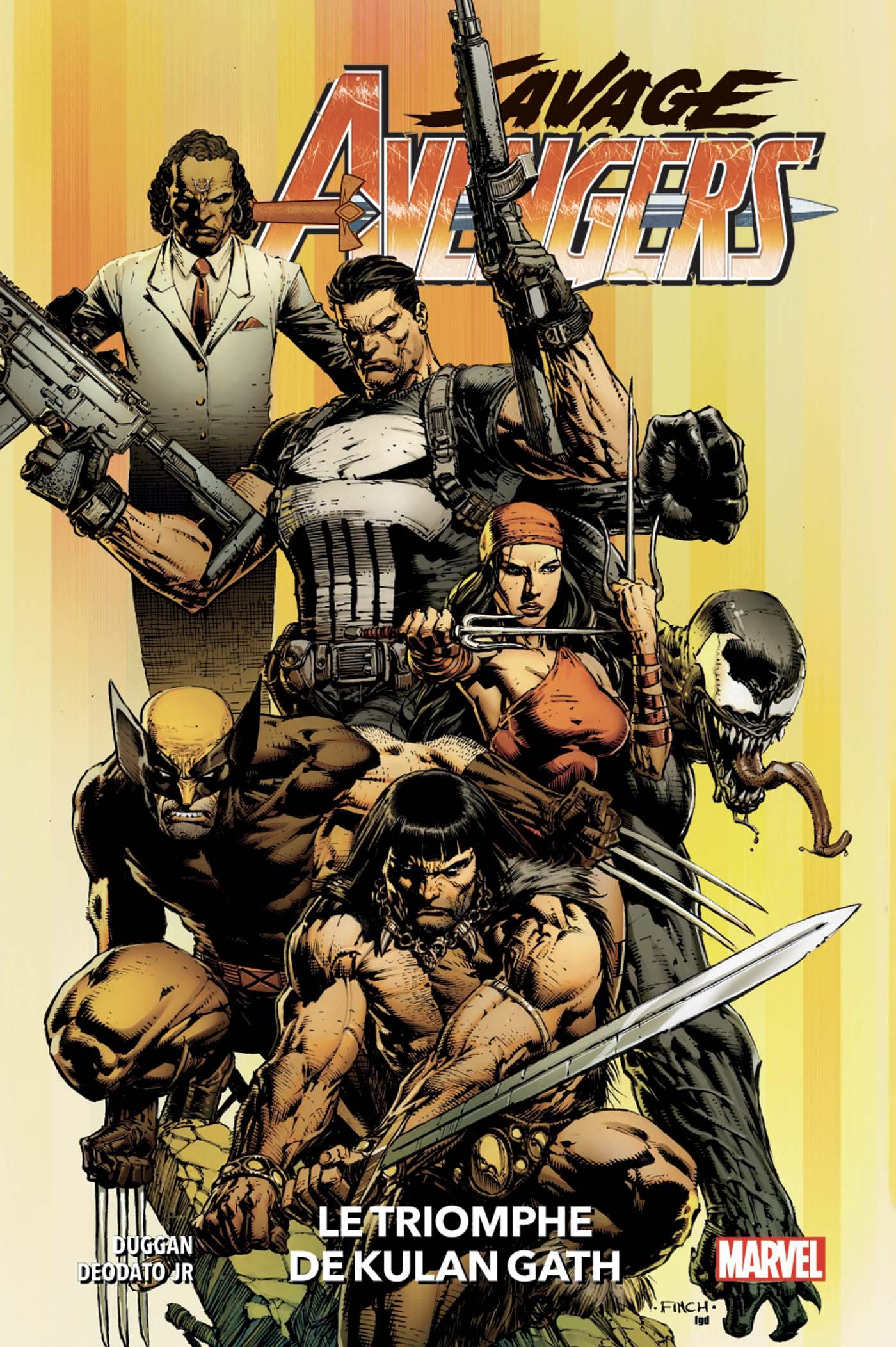 Savage Avengers 1 - Le Triomphe de Kulan Gath