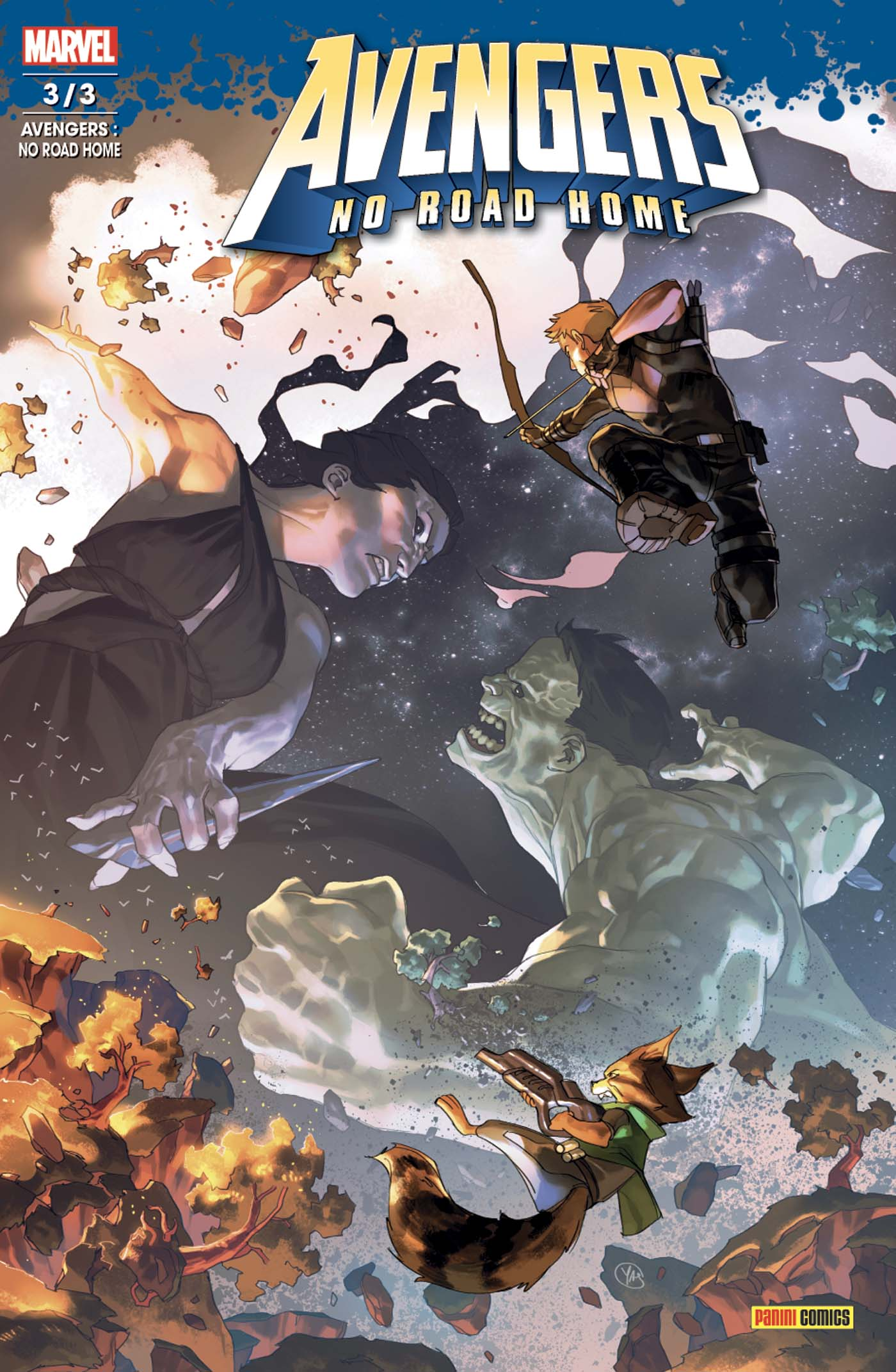 Avengers - No Road Home 3