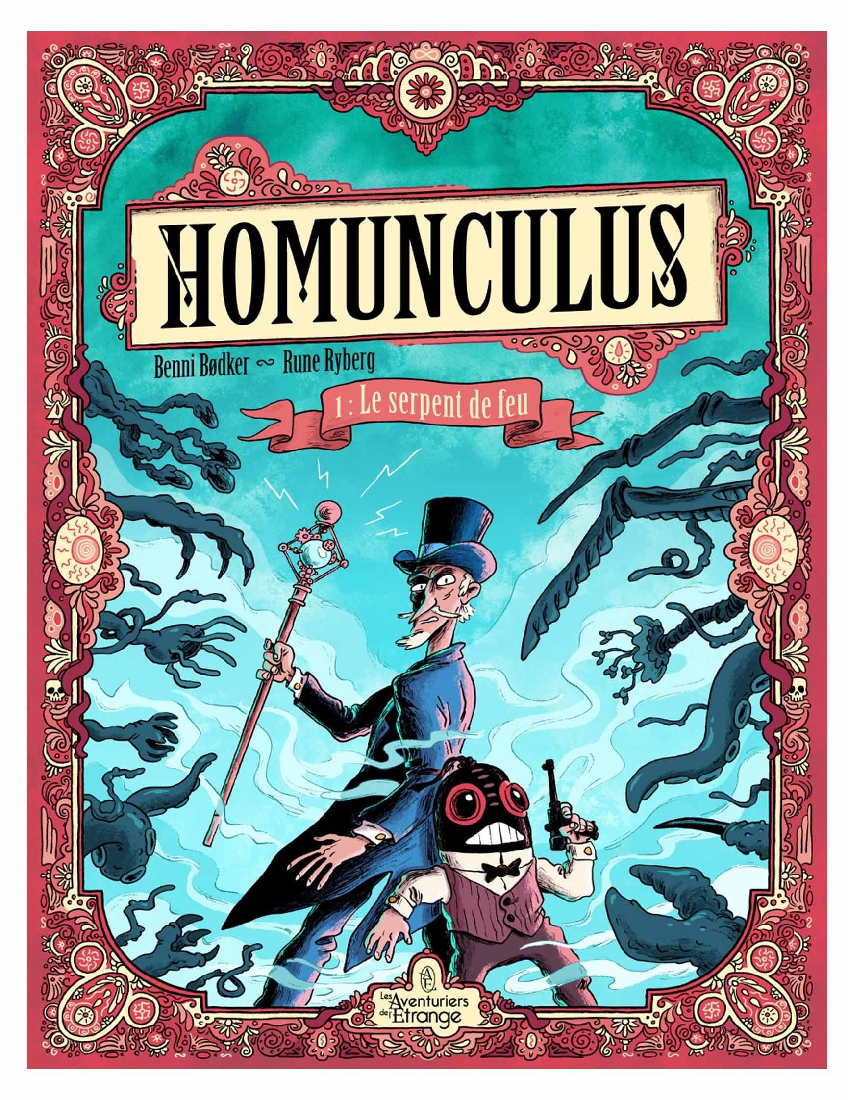 Homonculus 1 - Le serpent de feu