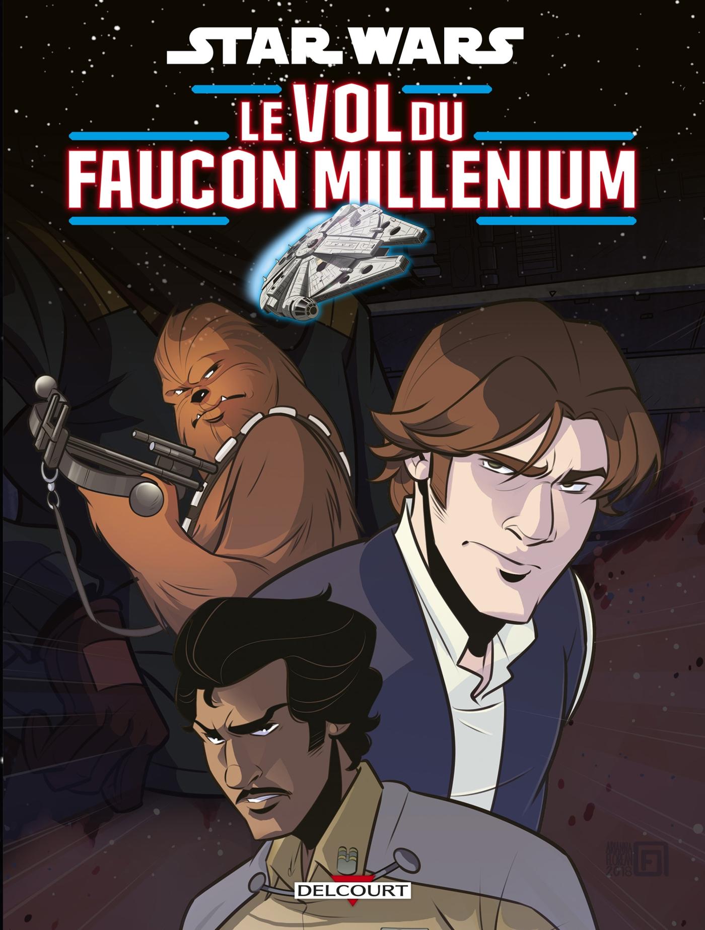Star Wars - Le Vol du Faucon Millenium 1