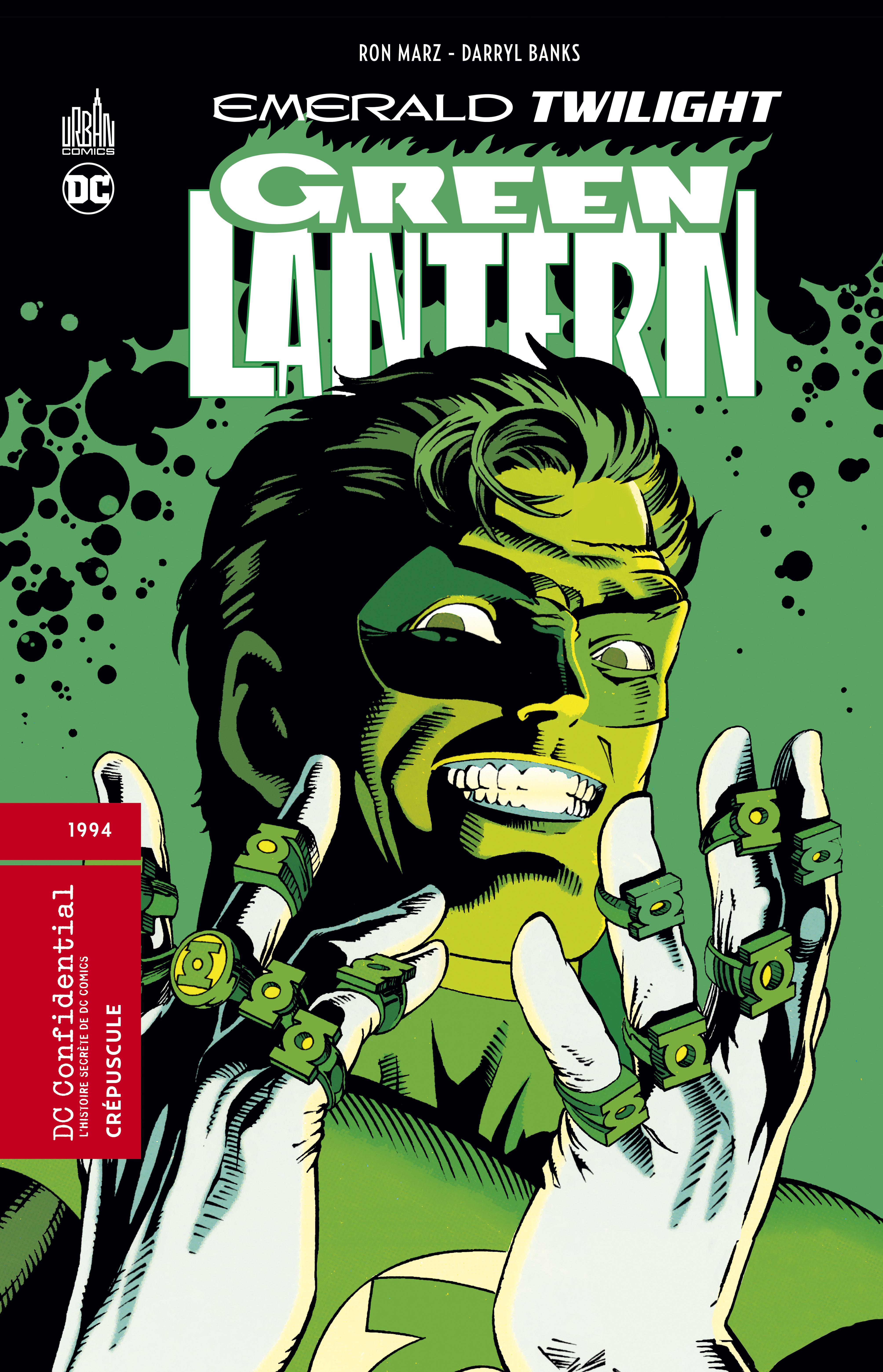 Green lantern – emerald twilight 0