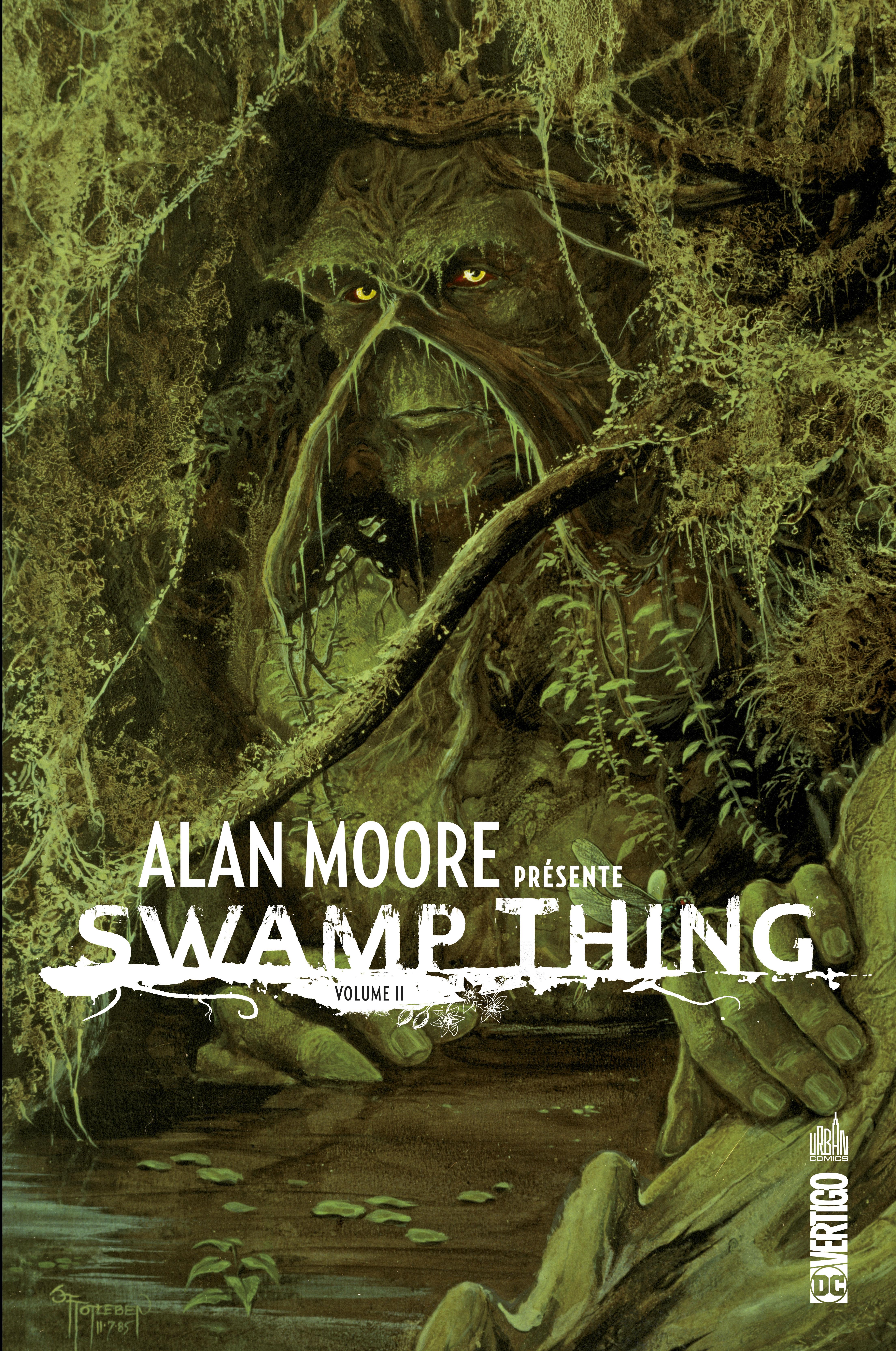 Alan Moore présente Swamp Thing 2