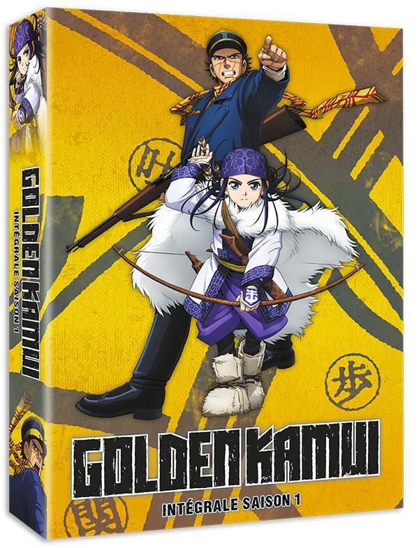 Golden Kamui 1 - Intégrale saison 1