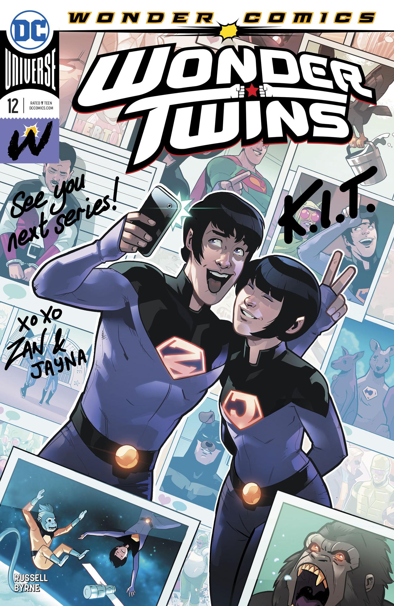 Wonder Twins 12