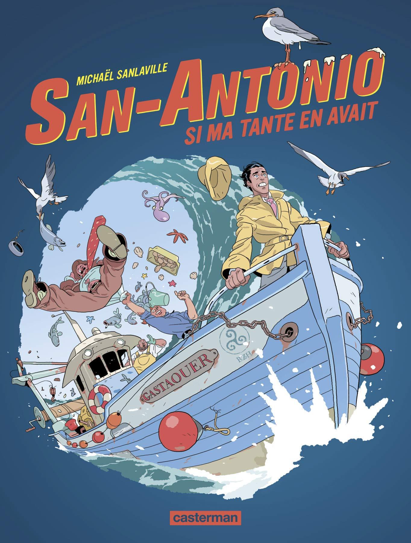 San-Antonio 2 - Si ma tante en avait